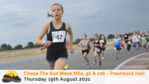 Chase the Sun Leicestershire 5K - August