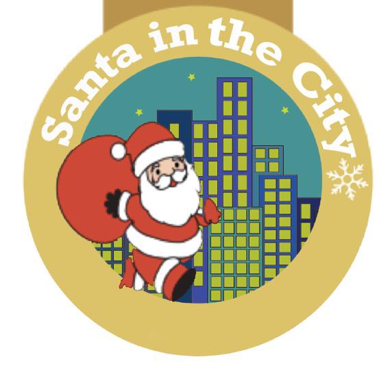 Santa in the City - London (Thursday)