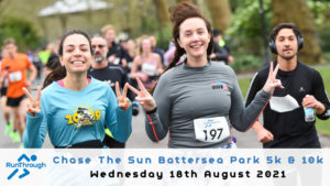 Chase the Sun Battersea 5K - August