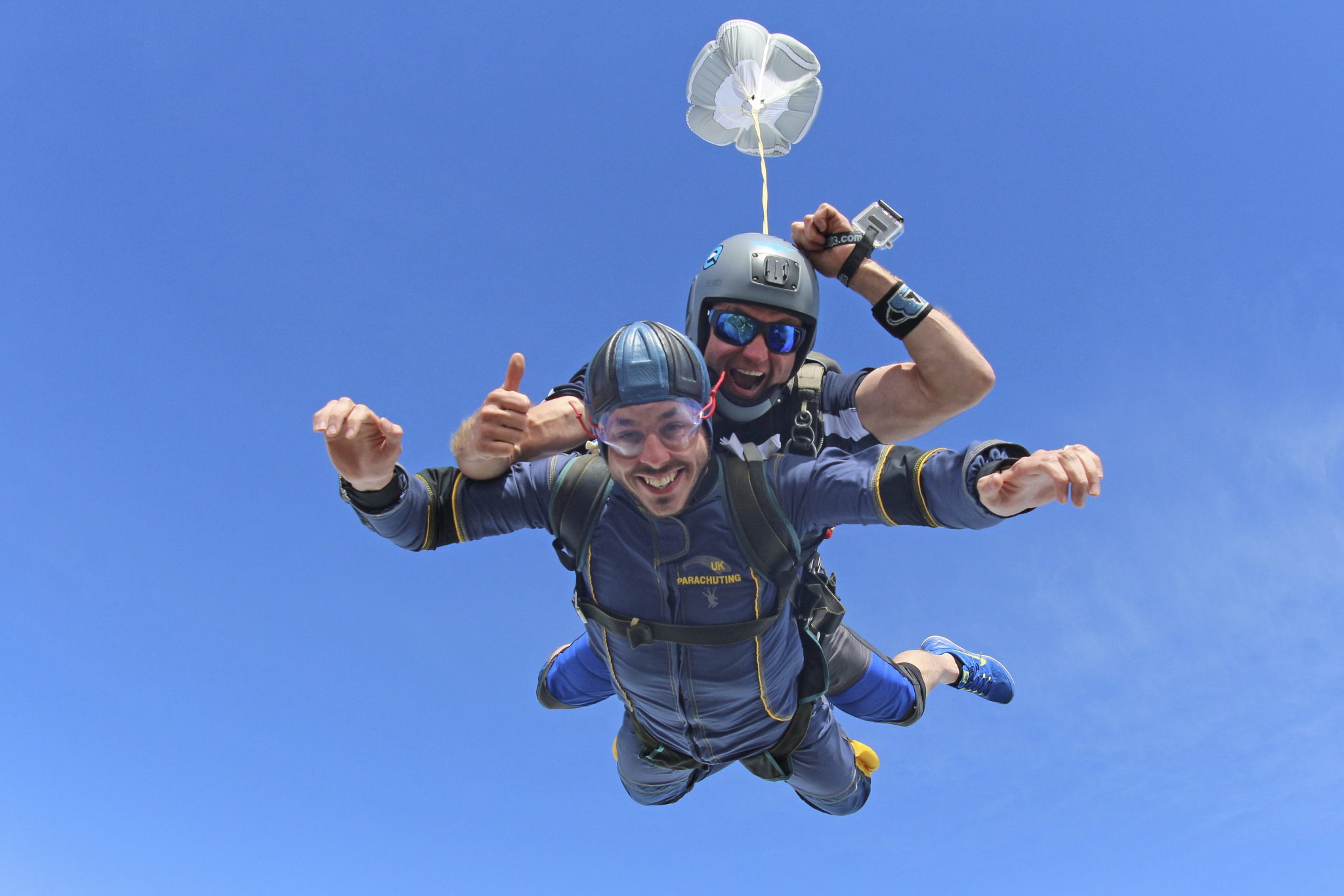 Sky Diving for Charity