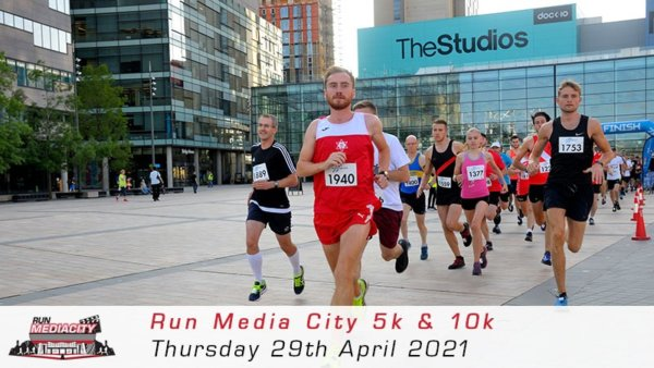 Run Media City 5K - April