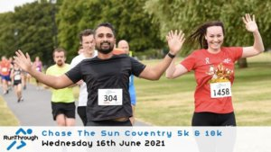 Chase the Sun Coventry 5K - June