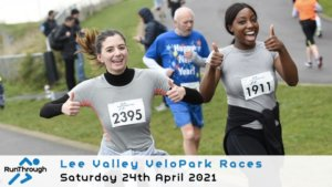 Lee Valley Velopark 5K - April