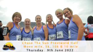 Chase the Sun Leicestershire 5K - June