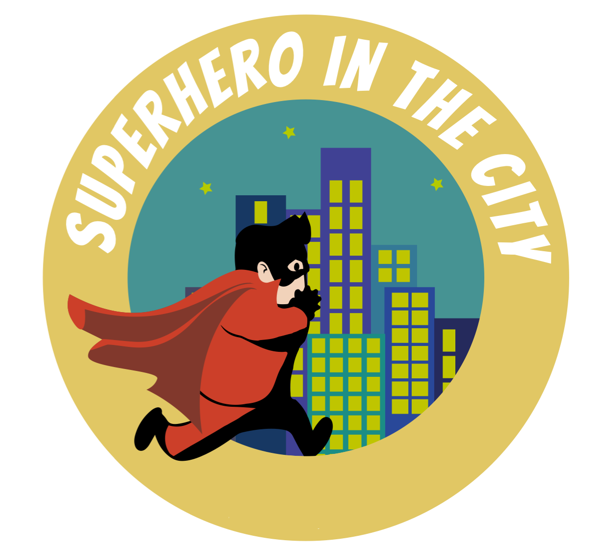 Superhero in the City