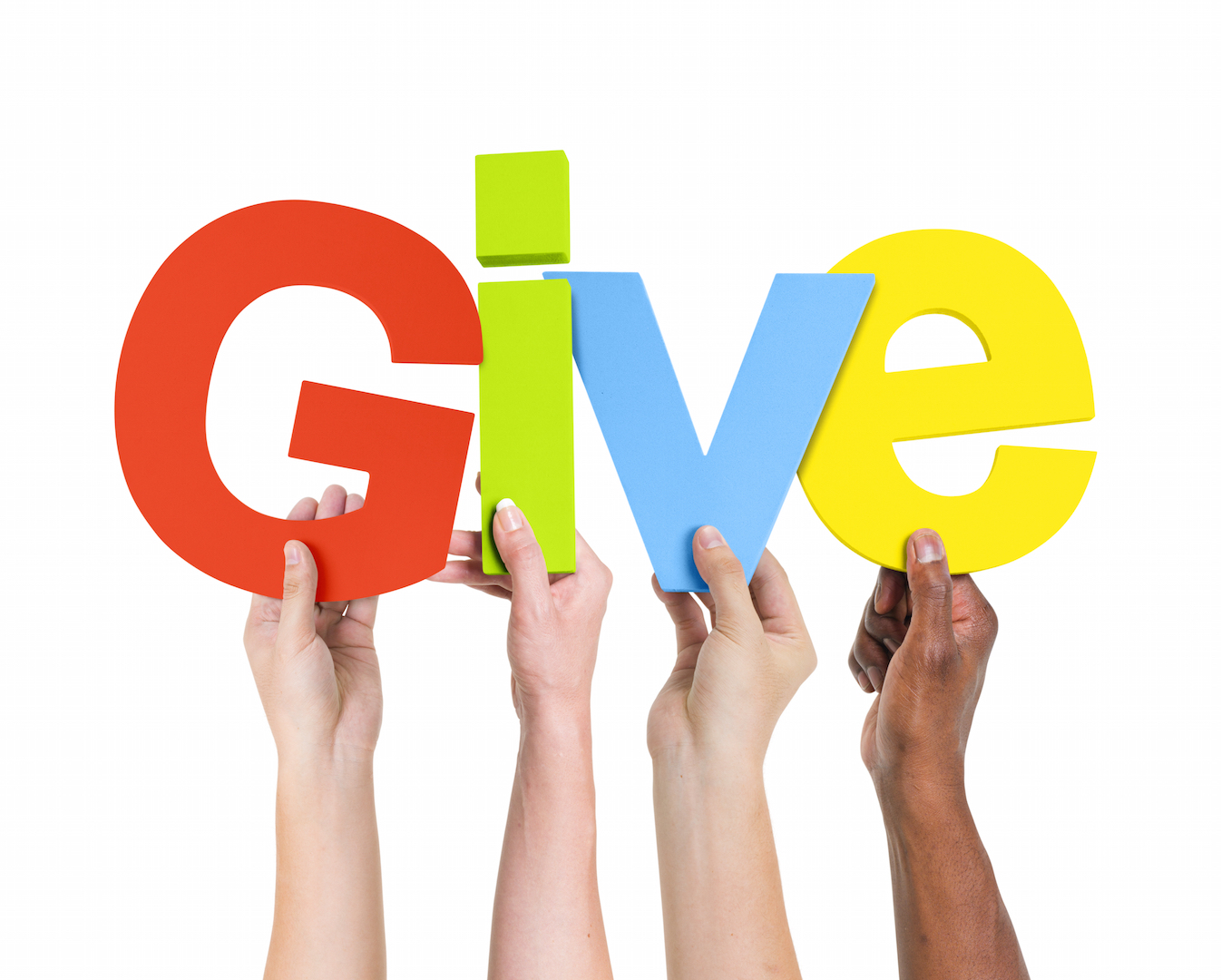 Don't be shy when fundraising