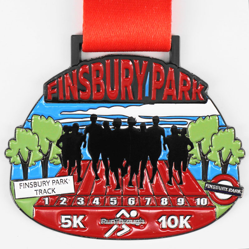 Virtual Race - Finsbury Park - 5K & 10K