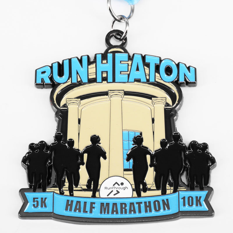 Virtual Race - Heaton Park - 5K, 10K & Half Marathon