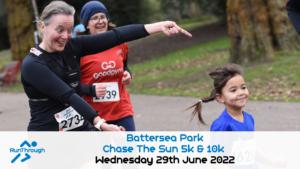 Chase the Sun Battersea 5K - June
