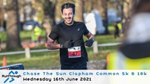 Chase the Sun Clapham 5K - June
