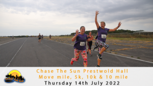 Chase the Sun Leicestershire 5K - July