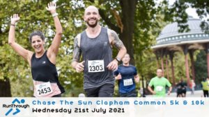 Chase the Sun Clapham 5K - July