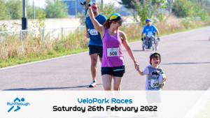 Lee Valley Velopark 5K - February