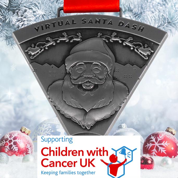 Children with Cancer Virtual Santa Dash