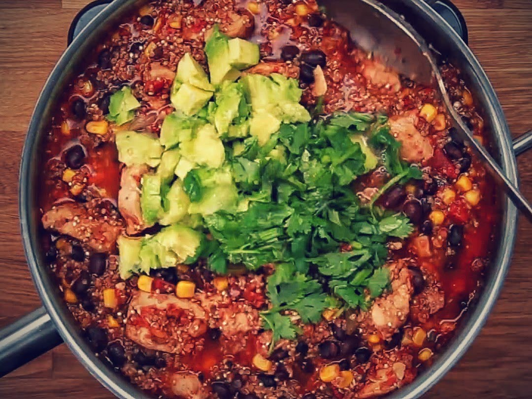 Quinoa chicken one pot