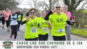 Chase the Sun Cheshire 10K - August