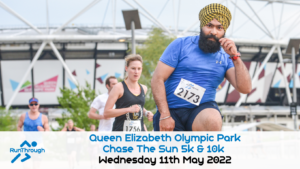 Chase The Sun Olympic Park 5K - May