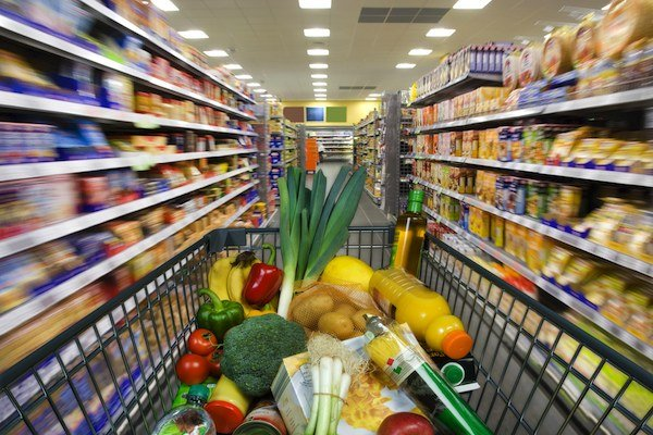 Tips on healthy food shopping for cyclists