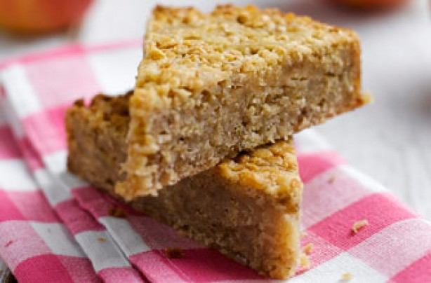Cyclist's recovery flapjack