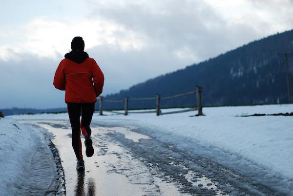Running Through The Winter Months